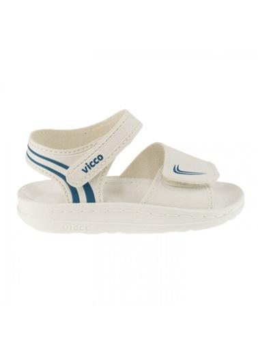 Vicco Vicco 332.Z.729 Dory Kız Erkek Çocuk Günlük Sandalet Terlik Beyaz